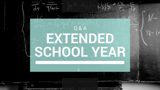 Image Q&A Extended School Year
