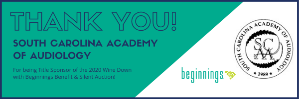 THANK YOU SC Academy of Audiology for being Title Sponsor of 2020 Wine Down