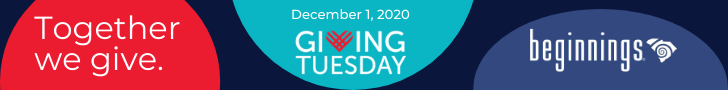 Together We Give. Giving Tuesday Dec. 1, 2020